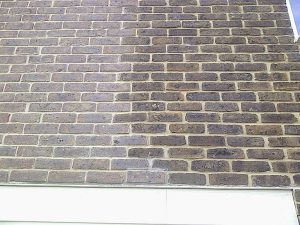 Chameleon Brick Tinting Solutions Brick Repair Tint Gosport Before