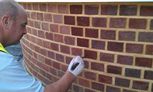 Chameleon Brick Services Ltd Brick Tinting Experts Brick Dyeing Southampton UK