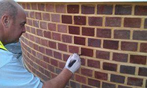 Chameleon Brick Services Ltd Brick Tinting Experts Brick Dyeing Southampton UK